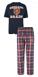 "Chicago Bears NFL ""Game Time"" Men's T-shirt & Flannel Pajama Sleep Set"