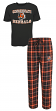"Cincinnati Bengals NFL ""Game Time"" Men's T-shirt & Flannel Pajama Sleep Set"