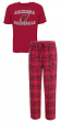 "Arizona Cardinals NFL ""Game Time"" Men's T-shirt & Flannel Pajama Sleep Set"
