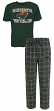 "Minnesota Wild NHL ""Game Time"" Men's T-shirt & Flannel Pajama Sleep Set"