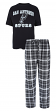 "San Antonio Spurs NBA ""Game Time"" Men's T-shirt & Flannel Pajama Sleep Set"