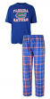 "Florida Gators NCAA ""Game Time"" Men's T-shirt & Flannel Pajama Sleep Set"