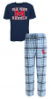 "Mississippi Ole Miss Rebels ""Game Time"" Men's T-shirt & Flannel Pajama Sleep Set"