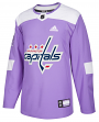 Washington Capitals Adidas Hockey Fights Cancer Men's Authentic Practice Jersey