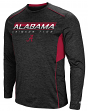 "Alabama Crimson Tide NCAA ""Makin' Bucks"" Men's Dual Blend Long Sleeve T-Shirt"