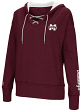 "Mississippi State Bulldogs Women's ""Rhymes"" Lace Up Pullover Hooded Sweatshirt"