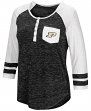 "Purdue Boilermakers NCAA Women's ""Inconceivable"" 3/4 Sleeve Henley Shirt"