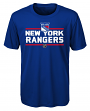 "New York Rangers Youth NHL ""Epitome"" Performance Short Sleeve T-Shirt"