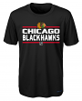 "Chicago Blackhawks Youth NHL ""Epitome"" Performance Short Sleeve T-Shirt"