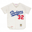 Sandy Koufax Los Angeles Dodgers Mitchell & Ness Authentic 1965 Button Up Jersey