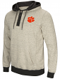 "Clemson Tigers Men's NCAA ""Bolton"" Hooded Henley Sweatshirt"