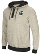 "Michigan State Spartans Men's NCAA ""Bolton"" Hooded Henley Sweatshirt"
