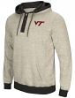 "Virginia Tech Hokies Men's NCAA ""Bolton"" Hooded Henley Sweatshirt"