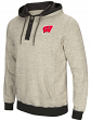 "Wisconsin Badgers Men's NCAA ""Bolton"" Hooded Henley Sweatshirt"