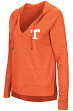 "Tennessee Volunteers Women's NCAA ""Never Doubt"" V-neck Hooded Shirt"