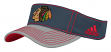 "Chicago Blackhawks Adidas NHL ""Line Change"" Performance Adjustable Visor"