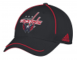 "Washington Capitals Adidas NHL ""Piping Fade"" Structured Adjustable Hat"