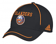 "New York Islanders Adidas NHL ""Piping Fade"" Structured Adjustable Hat"