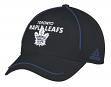 "Toronto Maple Leafs Adidas NHL ""Piping Fade"" Structured Adjustable Hat"