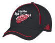 "Detroit Red Wings Adidas NHL ""Piping Fade"" Structured Adjustable Hat"