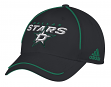 "Dallas Stars Adidas NHL ""Piping Fade"" Structured Adjustable Hat"