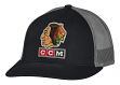 "Chicago Blackhawks CCM NHL ""Trucking"" Structured Adjustable Mesh Back Hat"