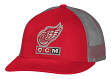 "Detroit Red Wings CCM NHL ""Trucking"" Structured Adjustable Mesh Back Hat"