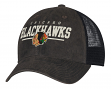 "Chicago Blackhawks CCM NHL ""Historic"" Slouch Adjustable Mesh Back Hat"