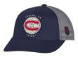 Montreal Canadiens CCM NHL Original 6 Structured Adjustable Mesh Back Hat