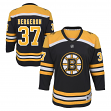 Patrice Bergeron Boston Bruins Youth NHL Black Replica Hockey Jersey