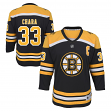Zdeno Chara Boston Bruins Youth NHL Black Replica Hockey Jersey