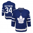 Auston Matthews Toronto Maple Leafs Youth NHL Blue Replica Hockey Jersey