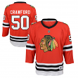Corey Crawford Chicago Blackhawks Youth NHL Red Replica Hockey Jersey