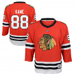 Patrick Kane Chicago Blackhawks Youth NHL Red Replica Hockey Jersey