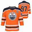 Connor McDavid Edmonton Oilers Youth NHL Blue Replica Hockey Jersey
