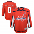 Alexander Ovechkin Washington Capitals Youth NHL Red Replica Hockey Jersey