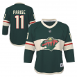 Zach Parise Minnesota Wild Youth NHL Green Replica Hockey Jersey