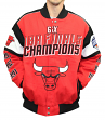 Chicago Bulls G-III NBA Championship Cotton Twill Commemorative Jacket