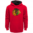 "Chicago Blackhawks Youth NHL ""Prime Logo"" Pullover Hooded Sweatshirt"