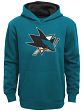 "San Jose Sharks Youth NHL ""Prime Logo"" Pullover Hooded Sweatshirt"