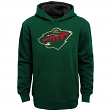 "Minnesota Wild Youth NHL ""Prime Logo"" Pullover Hooded Sweatshirt"