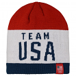 "Team USA Olympic ""Patriotic"" Cuffless Knit Beanie Cap"