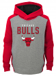 "Chicago Bulls Youth NBA ""Fadeaway"" Pullover Hooded Sweatshirt"
