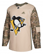 Pittsburgh Penguins Adidas NHL Camouflage Pre-Game Authentic Warm Up Jersey