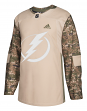 Tampa Bay Lightning Adidas NHL Edge Camouflage Pre-Game Authentic Warm Up Jersey