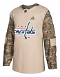 Washington Capitals Adidas NHL Edge Camouflage Pre-Game Authentic Warm Up Jersey