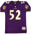 Ray Lewis Baltimore Ravens NFL Mitchell & Ness Throwback Premier Jersey
