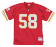 Derrick Thomas Kansas City Chiefs NFL Mitchell & Ness Throwback Premier Jersey