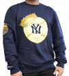 "New York Yankees Mitchell & Ness MLB ""1927 Championship"" Crew Sweatshirt - Navy"