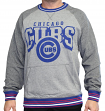 "Chicago Cubs Mitchell & Ness MLB ""Broad Street"" Men's Crew Sweatshirt"